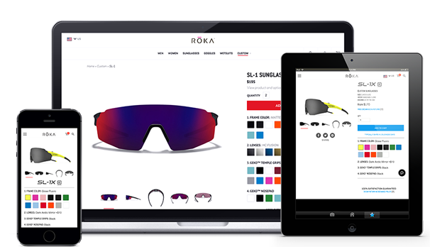ROKA ecommerce javascript development